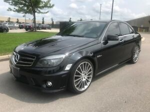 2011 MERCEDES-BENZ C63 AMG|ACCIDENT FREE|LOW KMS|LEATHER|CAMERA