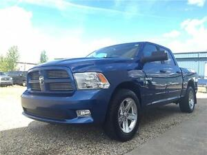 2010 Ram 1500 Sport 4x4 ~ Heated Leather ~ RamBox ~ $99 B/W