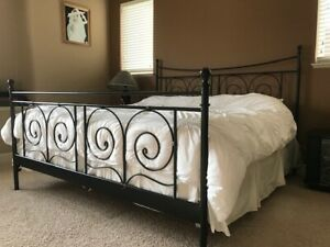 King-size Bed Frame in Excellent Condition