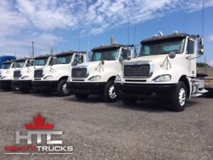 2005 FREIGHTLINER COLUMBIA DAYCABS - DETROIT - 13SP - HTC