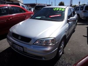 2003 Holden Astra TS Equipe City Silver 5 Speed Manual Hatchback Victoria Park Victoria Park Area Preview