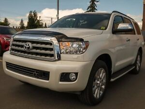 2012 Toyota Sequoia Platinum, Heated and Cooled Seats, Navigatio