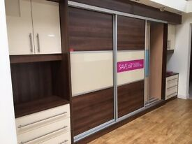 Betta Living Bedroom Drawers, cupboards and sliding wardrobe doors with runners
