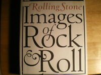 rolling stone images of rock and roll book