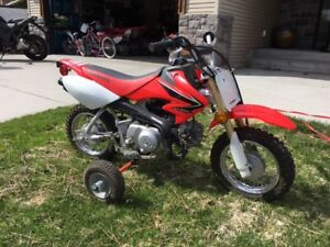 2008 Honda CRF 50 perfect condition
