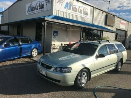 2002 Ford Falcon BA XT Green Sports Automatic Wagon Port Adelaide Port Adelaide Area Preview