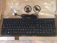 Lenovo keyboard and mouse set USB plug and play