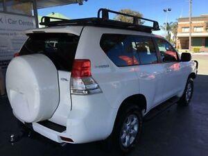 2013 Toyota Landcruiser Prado KDJ150R GXL White 6 Speed Manual Wagon Hamilton Newcastle Area Preview