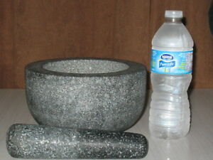 Granite Motrar And Pestle