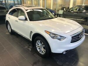 2013 Infiniti FX37 AWD, HEATED/COOLED LEATHER, ACCIDENT FREE