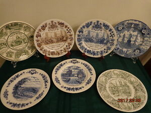 Collectible Plates: Would Make a Great Wall Display! All For $30