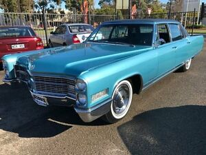 1966 Cadillac Fleetwood Brougham Blue Automatic Sedan Woodville Park Charles Sturt Area Preview