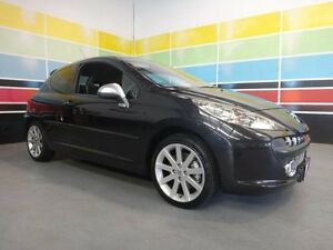 2009 Peugeot 207 GTi Black 5 Speed Manual Hatchback Wangara Wanneroo Area Preview