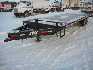 2014 ABU Flat Deck Trailer (45390)
