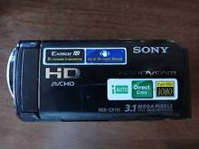Sony Handycam HDR CX110 in good condition St Lucia Brisbane South West Preview