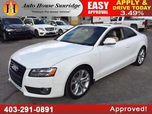 2008 AUDI A5 6 SPEED MANUAL NAVI BCAM 90 DAYS NO PAYMENT