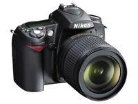 MINT Nikon D90, Nikor 18-105mm Lens, Spare Battery, Kata Bag