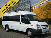 2011 Ford Transit Minibus 115 T430e Lwb 17s [ M2 ] Medium roof DRW