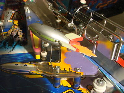 Twilight Zone pinball machine rocket ship mod, lighted, fabulous