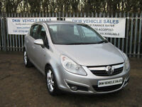 VAUXHALL CORSA 1.2 16V 5DR DESIGN / HALF LEATHER / A/C / STUNNING CONDITION!
