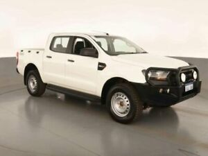 2015 Ford Ranger PX MKII XL DOUBLE CAB PLUS Cool White Sports Automatic Dual Cab Utility Bibra Lake Cockburn Area Preview