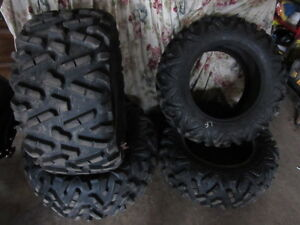 3- Big Horn tires for Can Am side by side