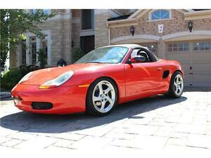 1998 PORSCHE BOXSTER** LOTS OF UPGRADES* LOW KM** MUST SEE**