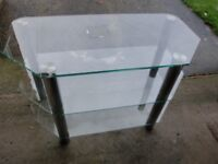 TV Glass Table in very good condition