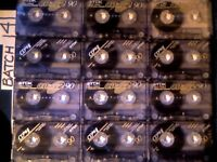 TDK CDing2 C90 TYPE 2 CHROME CASSETTE TAPES JUST ONE EXAMPLE OF MANY DOZENS OF CHROME AVAILABLE NOW.