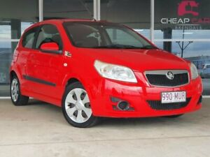 2009 Holden Barina TK MY09 Red 5 Speed Manual Hatchback Brendale Pine Rivers Area Preview