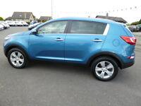 Kia Sportage 2 (blue) 2014-01-21