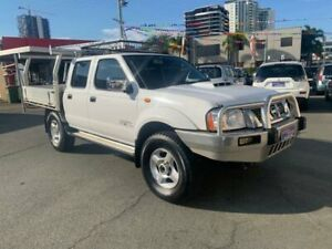2013 Nissan Navara D22 Series 5 ST-R (4x4) White 5 Speed Manual Dual Cab Pick-up Southport Gold Coast City Preview