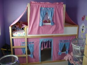Canopy and Curtain for loft/Bunk Bed