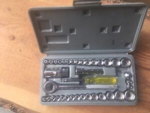 socket set  metric and imperial up tp 3/4""