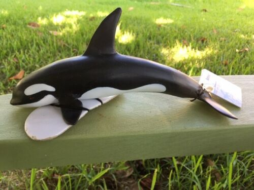 KILLER WHALE by Schleich/ toy/ whales/ 16071/ RETIRED