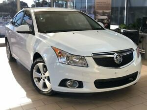 2014 Holden Cruze JH Series II MY14 Equipe White 6 Speed Sports Automatic Sedan Belconnen Belconnen Area Preview