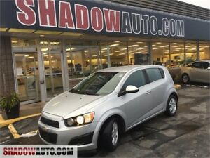 2012 Chevrolet Sonic LT- FUEL ECONOMY! HATCH BACK