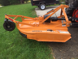 """Woods 48"""" Brushbull cutter, almost new"""