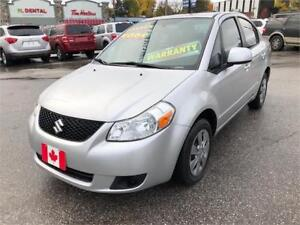2009 Suzuki SX4 Sedan AUTO., LOW KILOMETERS..PERFECT...$5800.