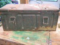 Old style ammo box