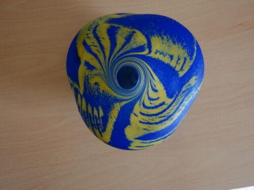 Rare Peter Layton Organic Studio Art Glass Vase/Vessel, Signed & Dated 1988
