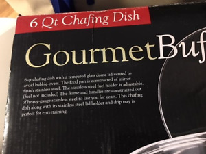 Gourmet Chafing Dish