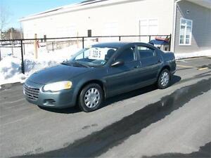 2005 Chrysler Seabring 4Dr Sedan