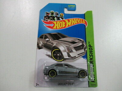 2013 Cadillac CTS-V #152 Hot Wheels Die Cast Car HW Workshop Carded
