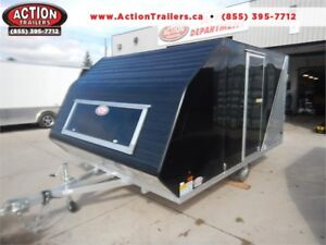 2019 AmeraLite BLAST Hybrid Sled Trailer W/ Side Door!