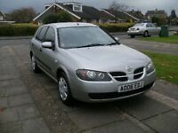 2006 NISSAN ALMERA 1.5 SILVER FULL SERVICE HISTORY ONE OWNER NEW CLUTCH