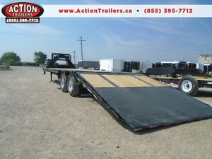 REVOLUTIONARY PJ LOW PRO HYDRAULIC DOVE TAIL DECK OVER EQUIPMENT London Ontario image 1