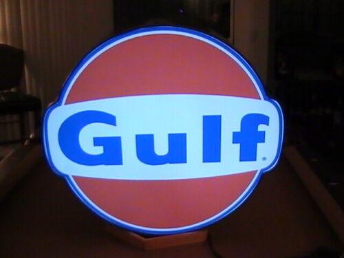 Gulf Lighted Sign