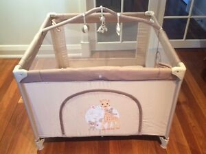 Rare Sophie La Girafe Playpen (Renolux) -  Made in France Mosman Park Cottesloe Area Preview