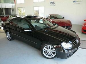 2006 Mercedes-Benz CLK500 C209 MY07 Avantgarde Black 7 Speed Sports Automatic Coupe Albion Brisbane North East Preview